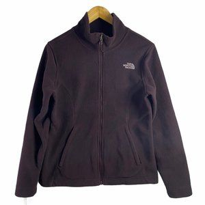 The North Face Women Full Zip Up Jacket Burgundy